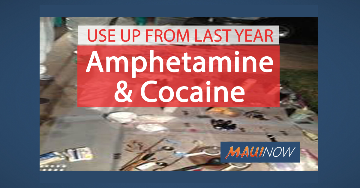Amphetamine and Cocaine Use Up From Third Quarter Last Year