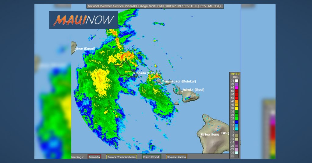 Maui Now: Flood Notifications Through Friday Afternoon