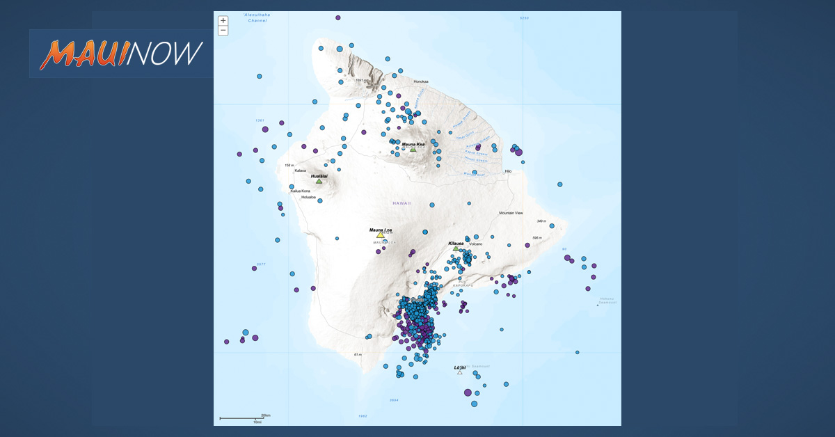 Why do so many deep earthquakes happen around Pāhala?