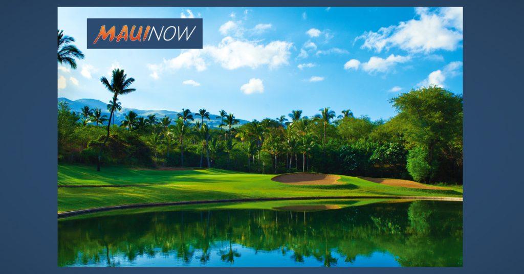 Maui Now: Wailea Golf Raises $3,700 for Military Families