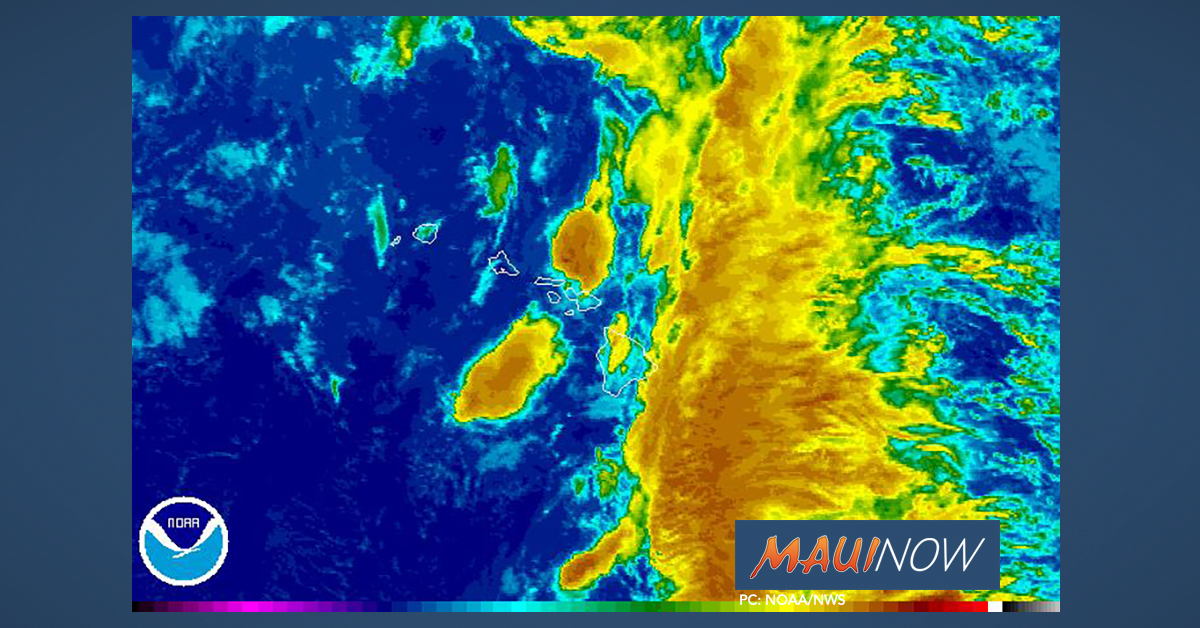 Maui County Flood Watch Extended to Late Tonight