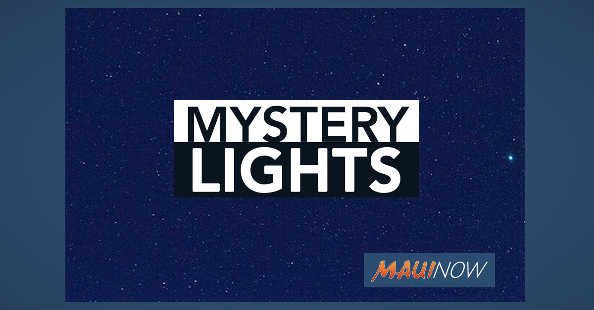 Mystery Lights in Night Sky Reported Over Maui