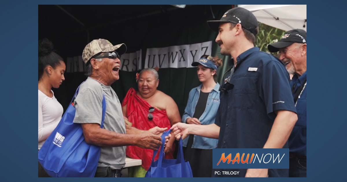 3,000 on Lāna'i Attend Annual Turkey and Rice Giveaway