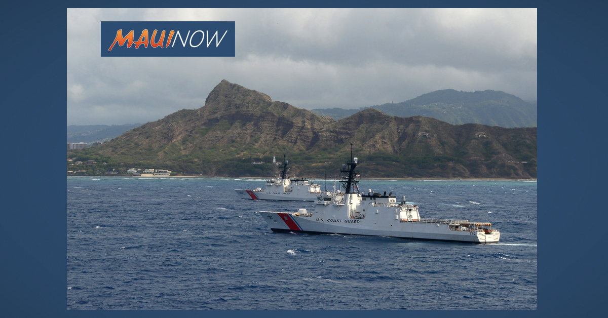 Coast Guard, UH Mānoa Sign Agreement Increasing Student Opportunities