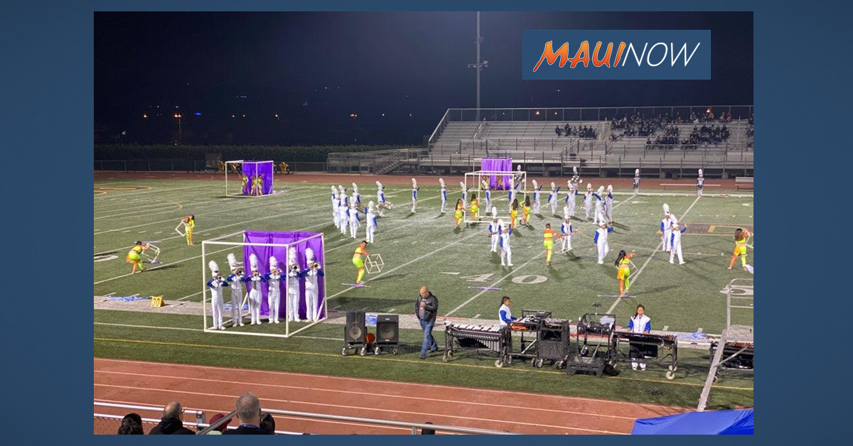Saber Marching Band Wins First Place at Conquistador Classic