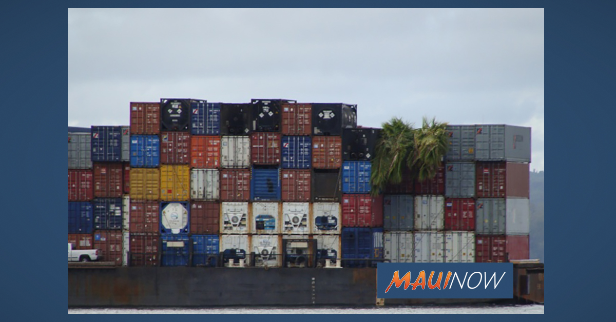 Amendment Advances to Provide Financial Assistance for Hawaiʻi Exports