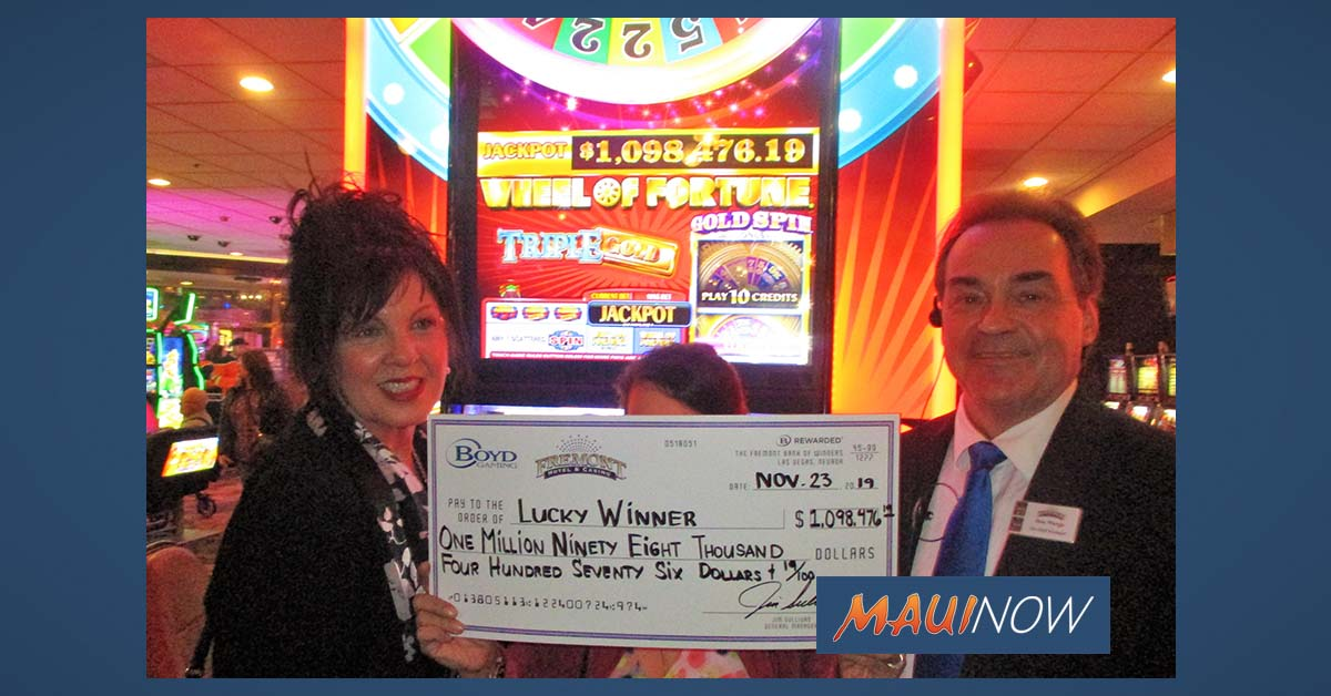 Hawaiʻi Woman Hits Slots Jackpot at Fremont Hotel in Vegas