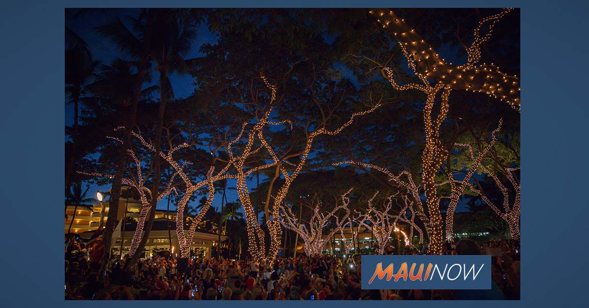 Grand Wailea to Usher in Holidays with Annual Tree Lighting Ceremony