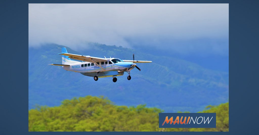 Maui Now: Makani Kai Air Wins Essential Air Contract for Hāna, Maui