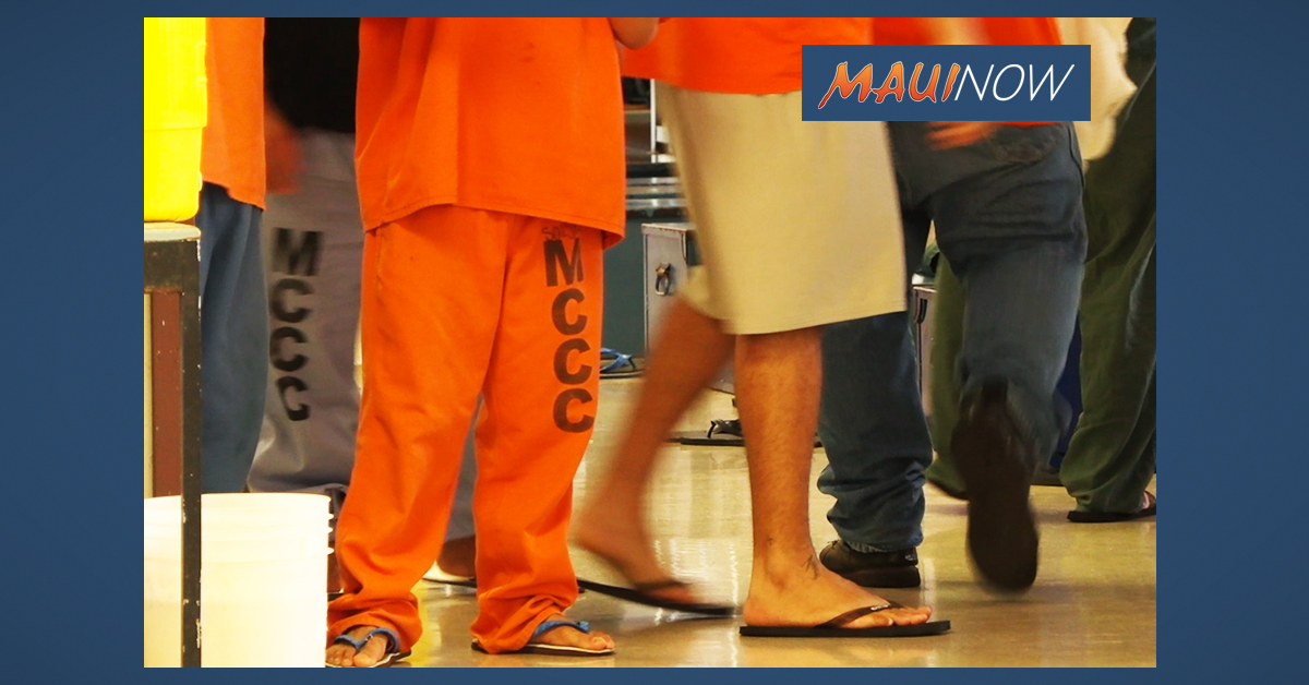 Eight Months After Riot, Maui Jail is Still 40% Overcapacity