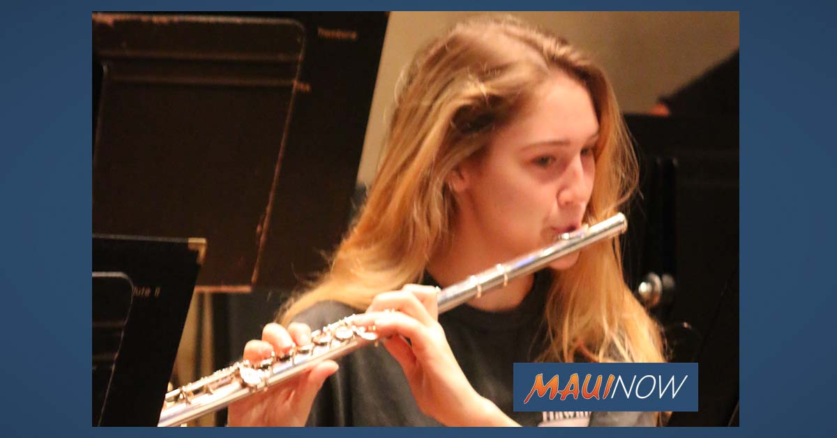 Maui Youth Philharmonic Orchestra Winter Concert, Dec. 8