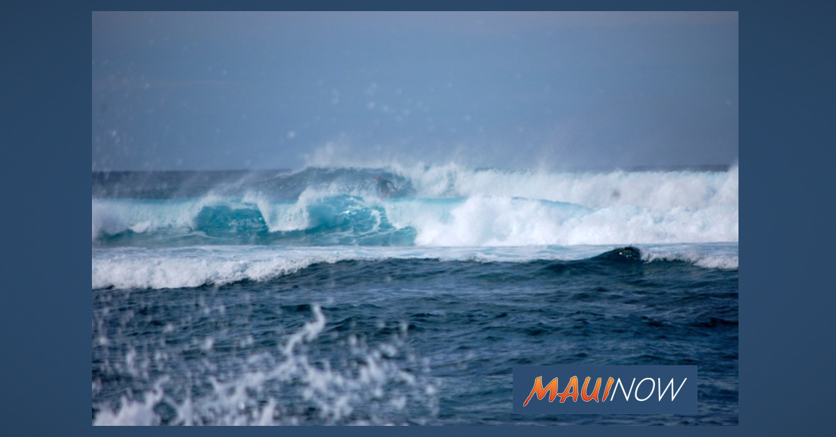 15-20 Foot Surf Forecast on North Shores of Maui and Moloka'i Today