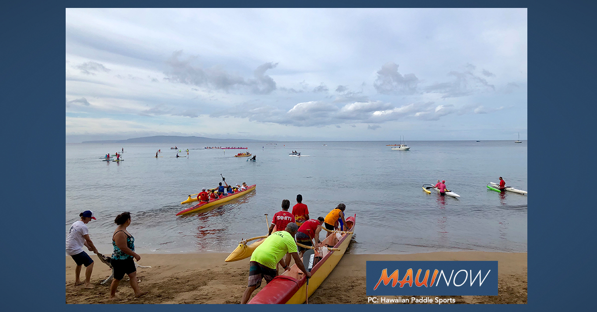 Maui's 19th Annual Paddle For Hunger Takes Place on Thanksgiving Day!