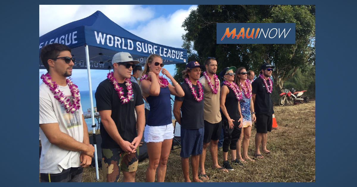 JAWS Big Wave Championships Donates to Maui Nonprofits in Lieu of Site Rental Fee