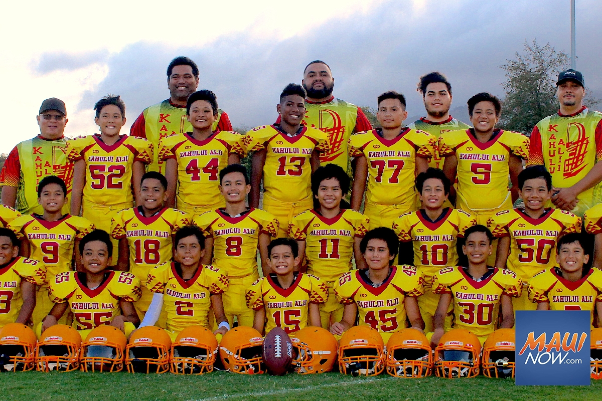A Kahului Pee Wee Team Needs Help Getting to Regionals