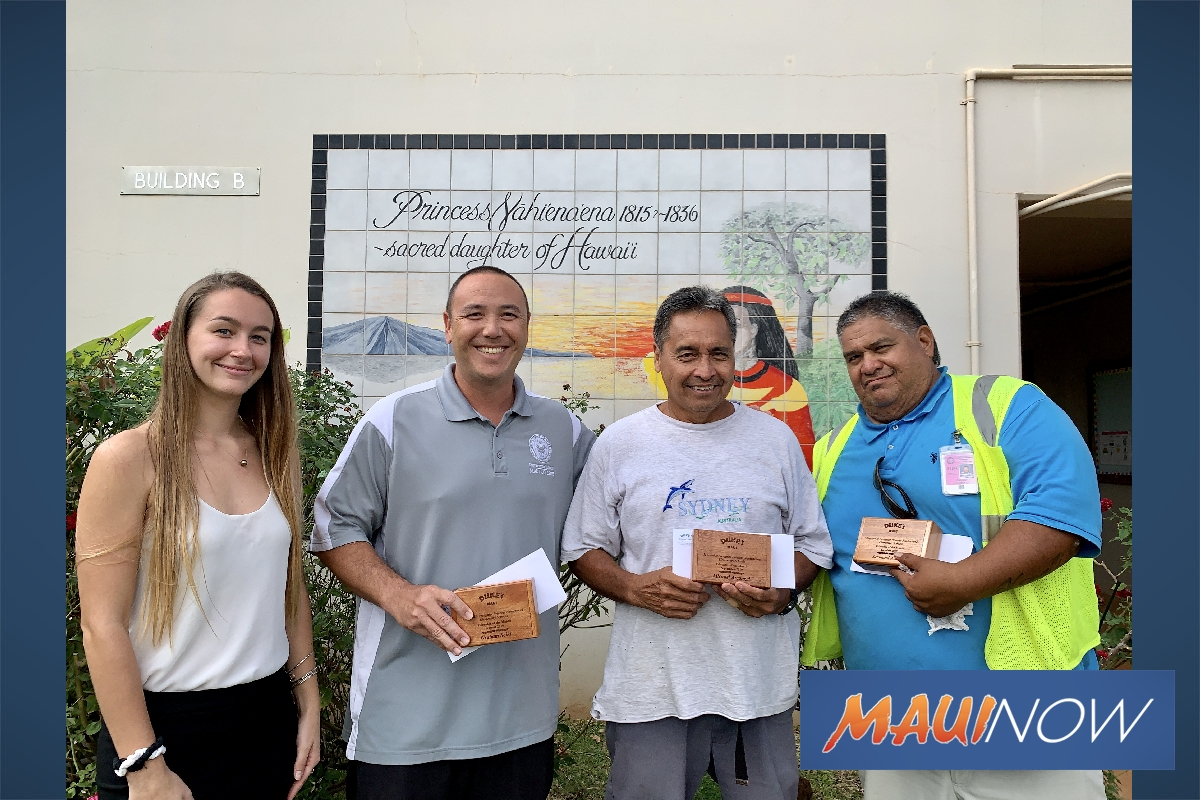 Princess Nahiʻenaʻena Staff Recognized for 'Dedication and Hard Work'