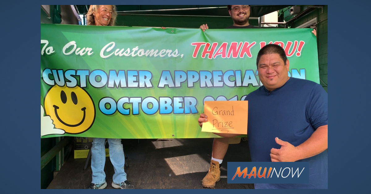 Pukalani Superette Celebrates Customers with Appreciation Month