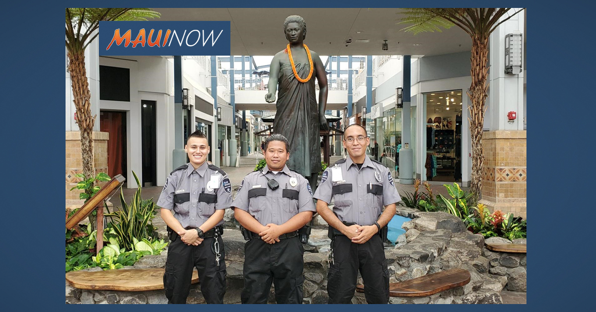 QKC Security Officers Honored for Help with Unresponsive Mall Patron