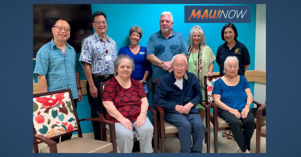 Maui Now: Rotarians Donate Dining Room Chairs to Maui Nursing Home