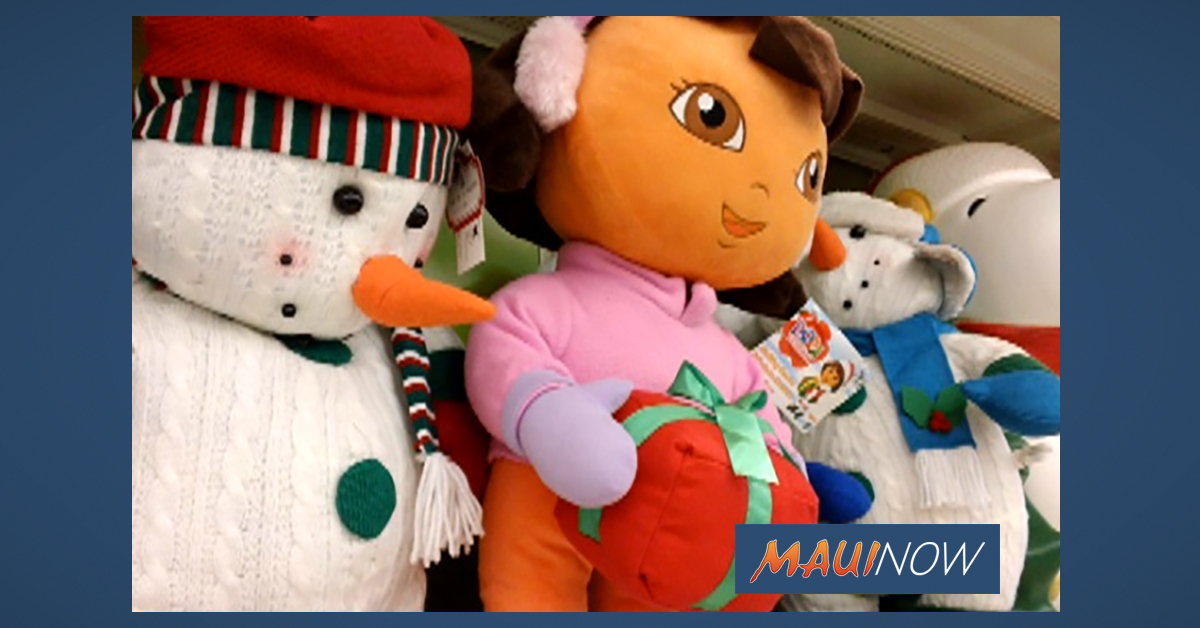 Maui Salvation Army and Walmart Team up for Toy Drive This Saturday