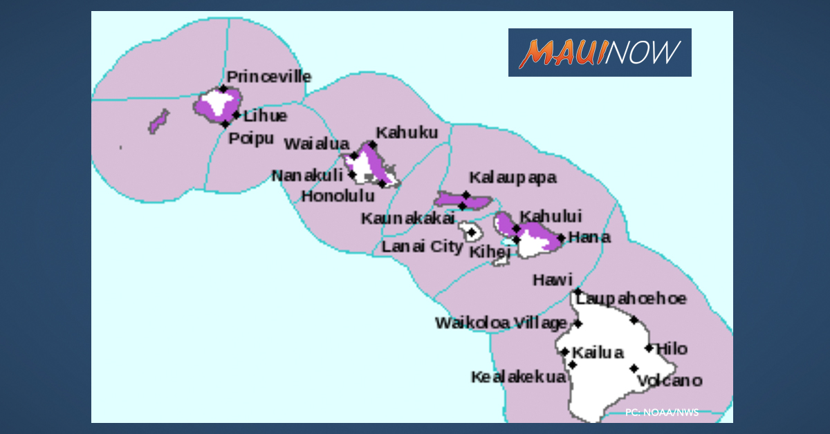 Flood Watch Cancelled, Large NW Swell on Maui's North Shore