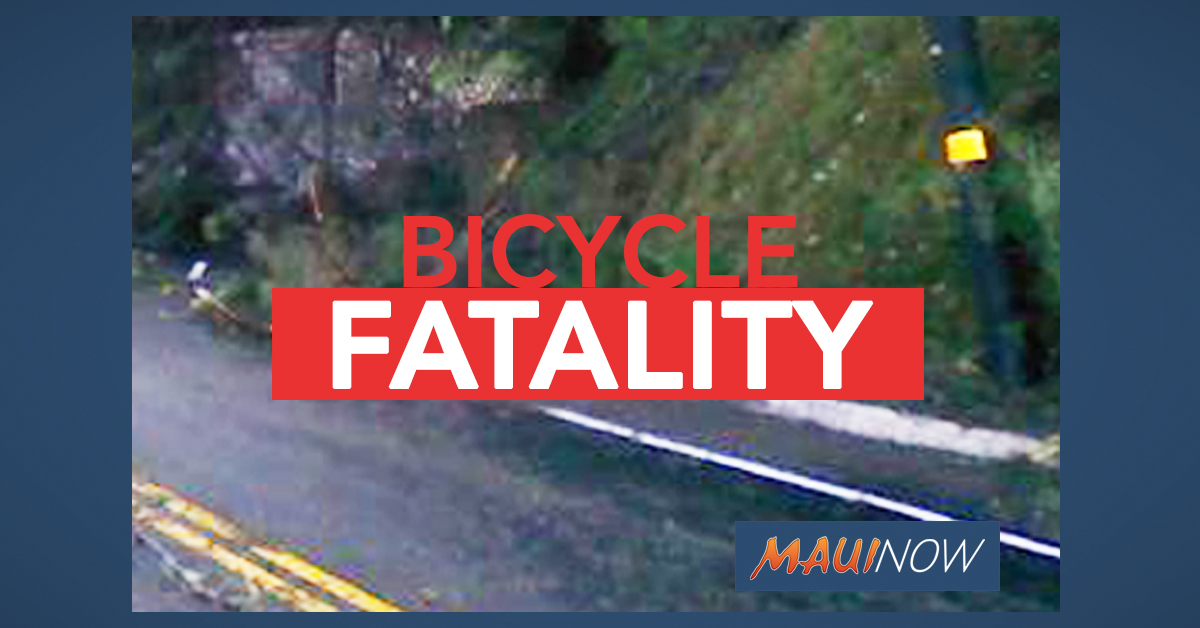 Christmas Eve Crash Claims Life of Kula Bicyclist on Maui