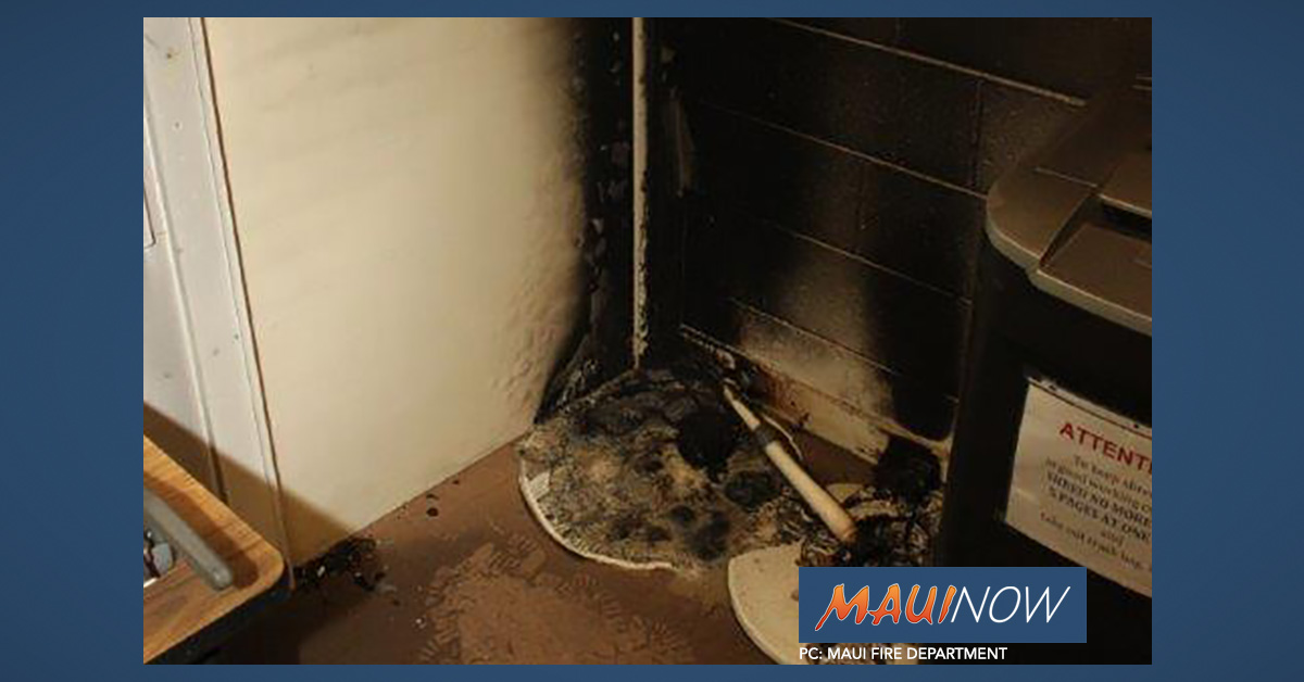Morning Copy Room Fire at Kahului Elementary School Deemed Accidental
