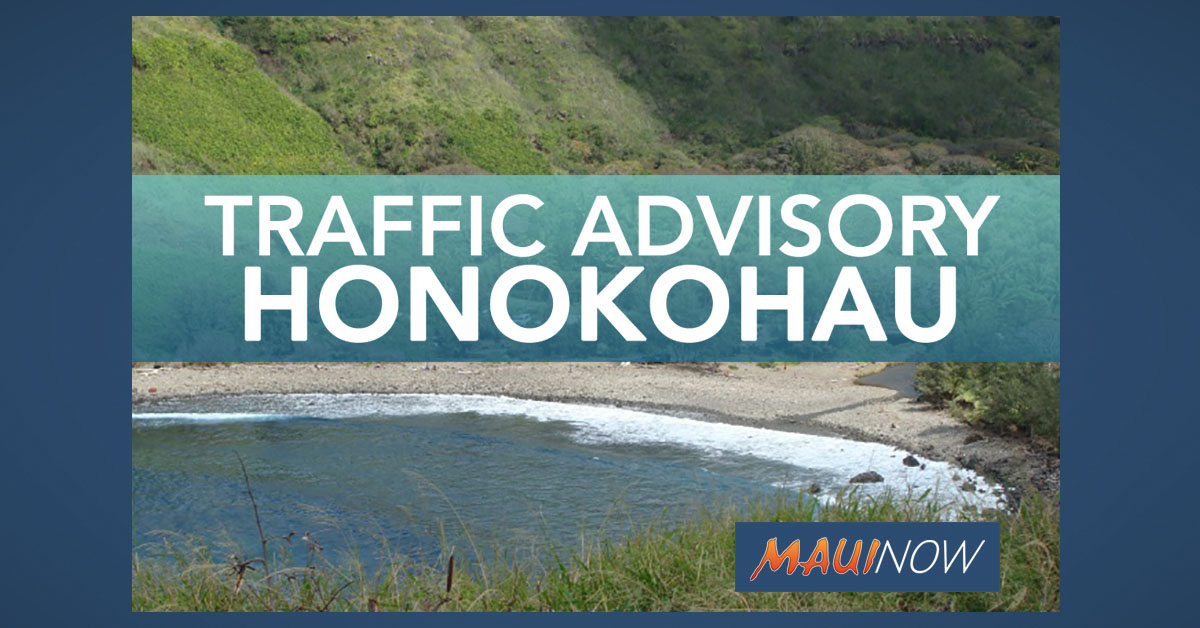 UPDATE: Honoapi'ilani Hwy OPEN in Honokōhau, Police Conclude Traffic Investigation