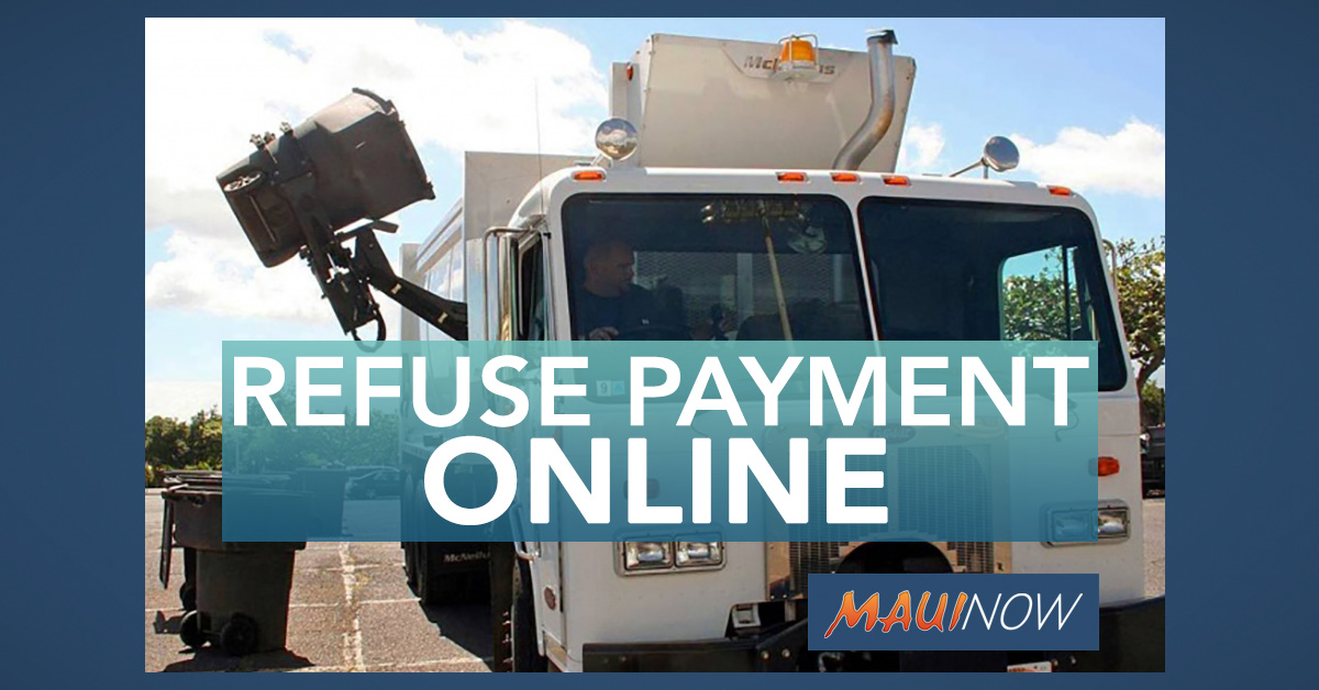 Online Refuse Payments Now Accepted by Solid Waste Division
