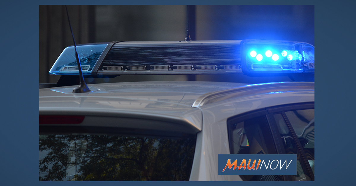 Kula Man Arrested Following Motor Vehicle Accident on Pūlehu Road