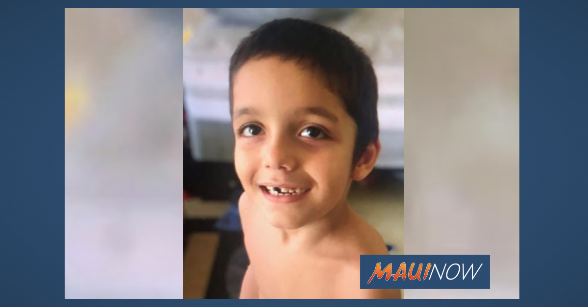 "Search Continues for Missing 6-year old Hilo Boy, Benjamin ""Benny"" Rapoza"