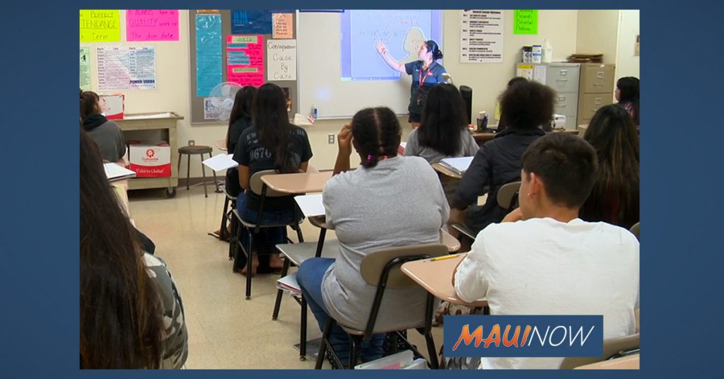 Maui Now: UPDATE: Maui Teachers Could Receive Thousands in Differentials
