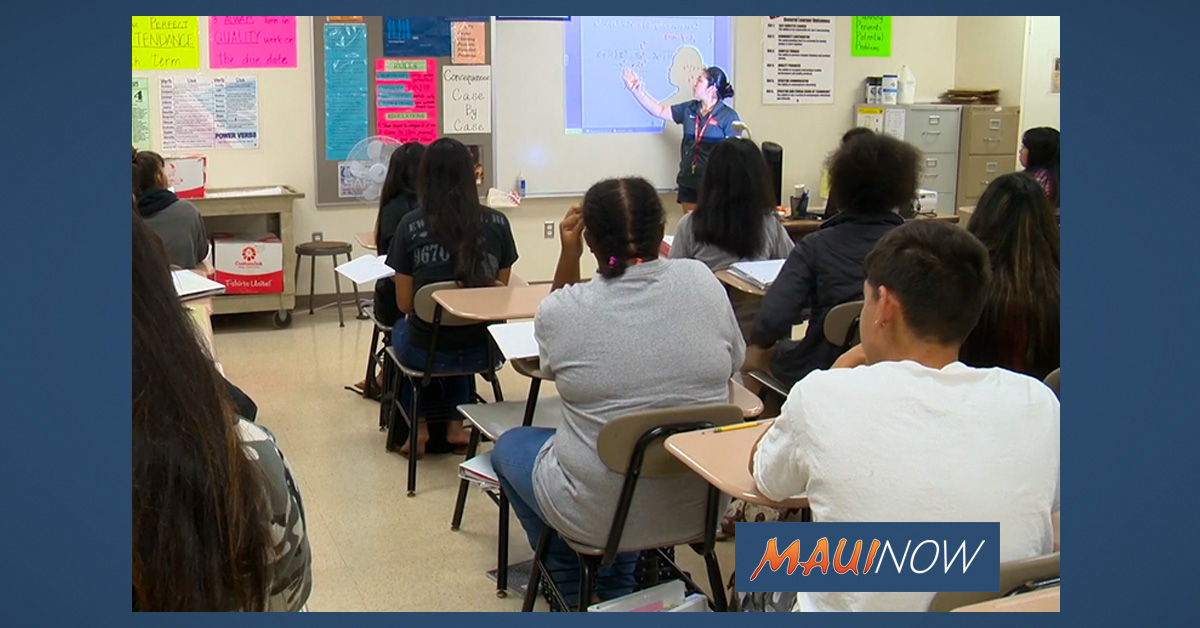 UPDATE: Maui Teachers Could Receive Thousands in Differentials