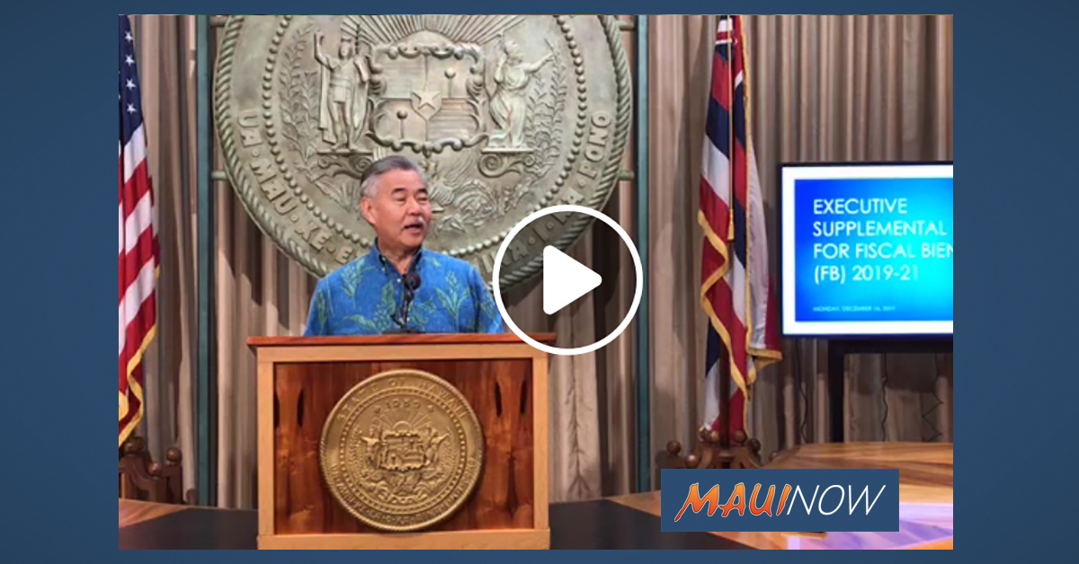 Supplemental Budget Includes Funds for Lahaina Bypass and Increased Security at Maui Jail