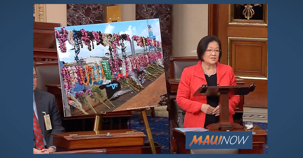 Hirono Pays Tribute to Victims of the Shooting at Pearl Harbor Naval Shipyard