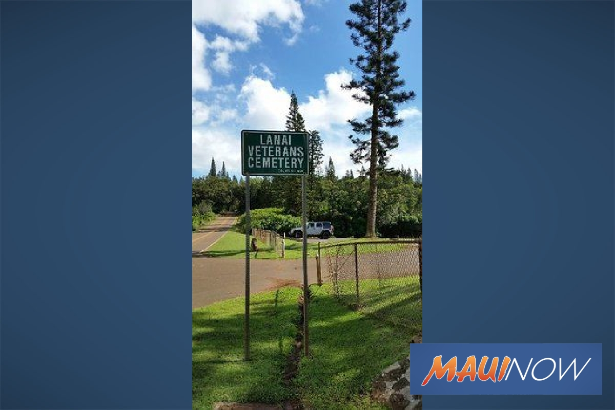 Lānaʻi Veterans Cemetery Improvements Complete