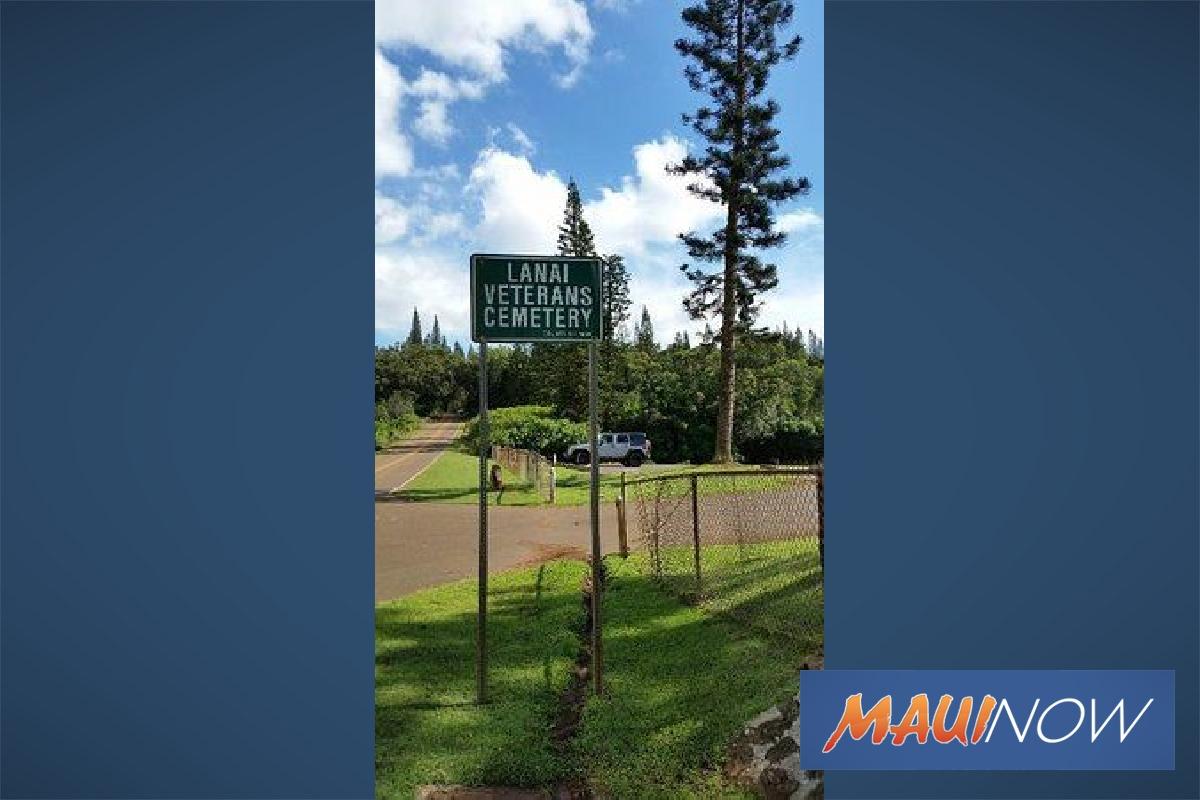 Lānaʻi Veterans Cemetery Improvements Complete