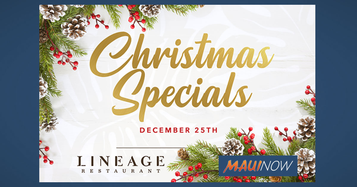 Lineage Special Christmas and New Year's Offerings