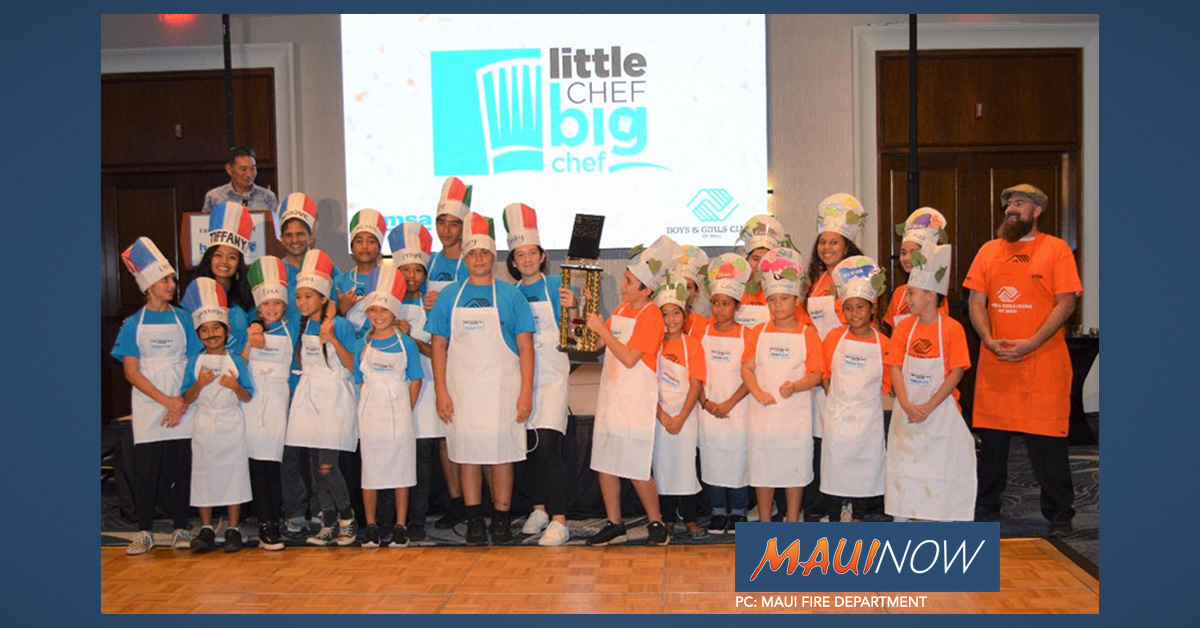 Little Chef Big Chef Gala Raises $120,000 for Maui Youth