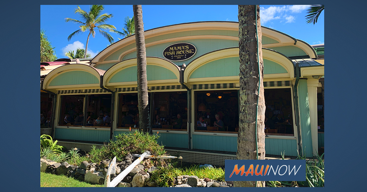 Two Maui Restaurants Make OpenTable's Top 100 List