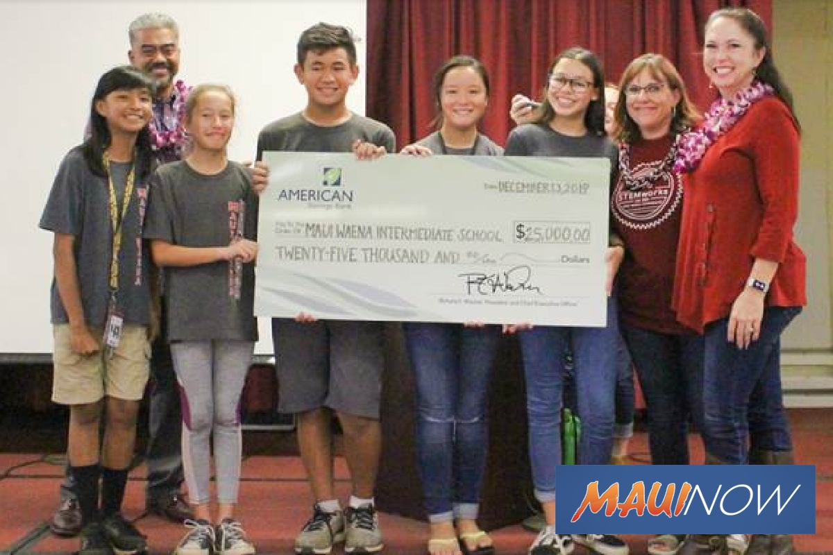 Keiki Business Contest Awards $190K to Schools Statewide