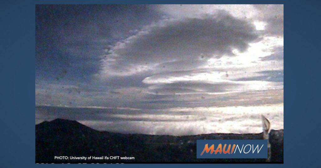 Maui Now: Winter Storm Watch Could Bring Six Inches of Snow to Big Island Summits