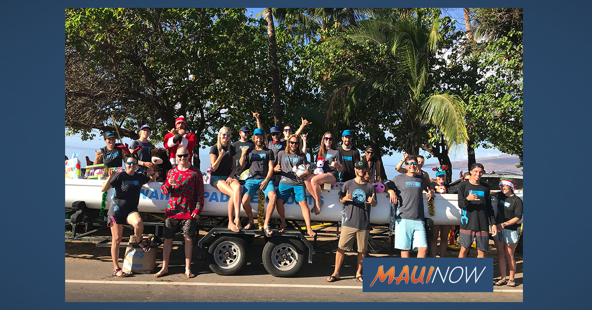 Paddle For Keiki Toy Drive Benefits 275+ Kids