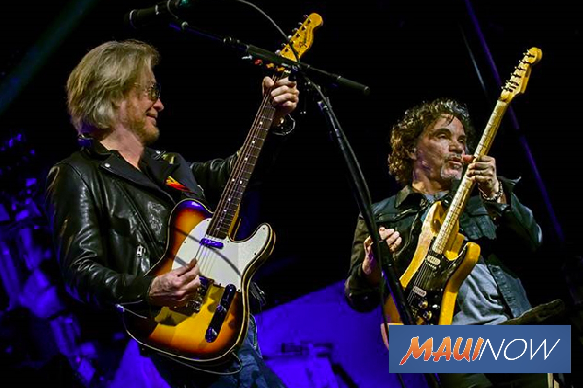 Hall and Oates to Rock Out on Maui