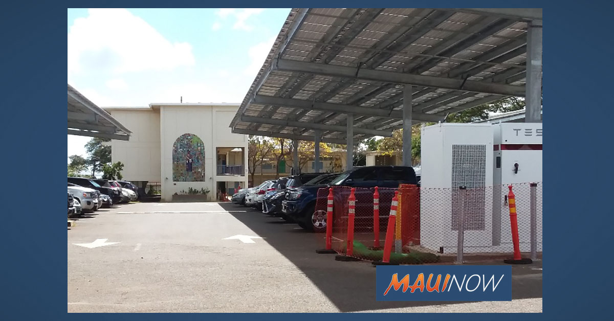 Maui's Hawai'i Pacific Solar Installs Renewable Energy Systems at DOE Campus
