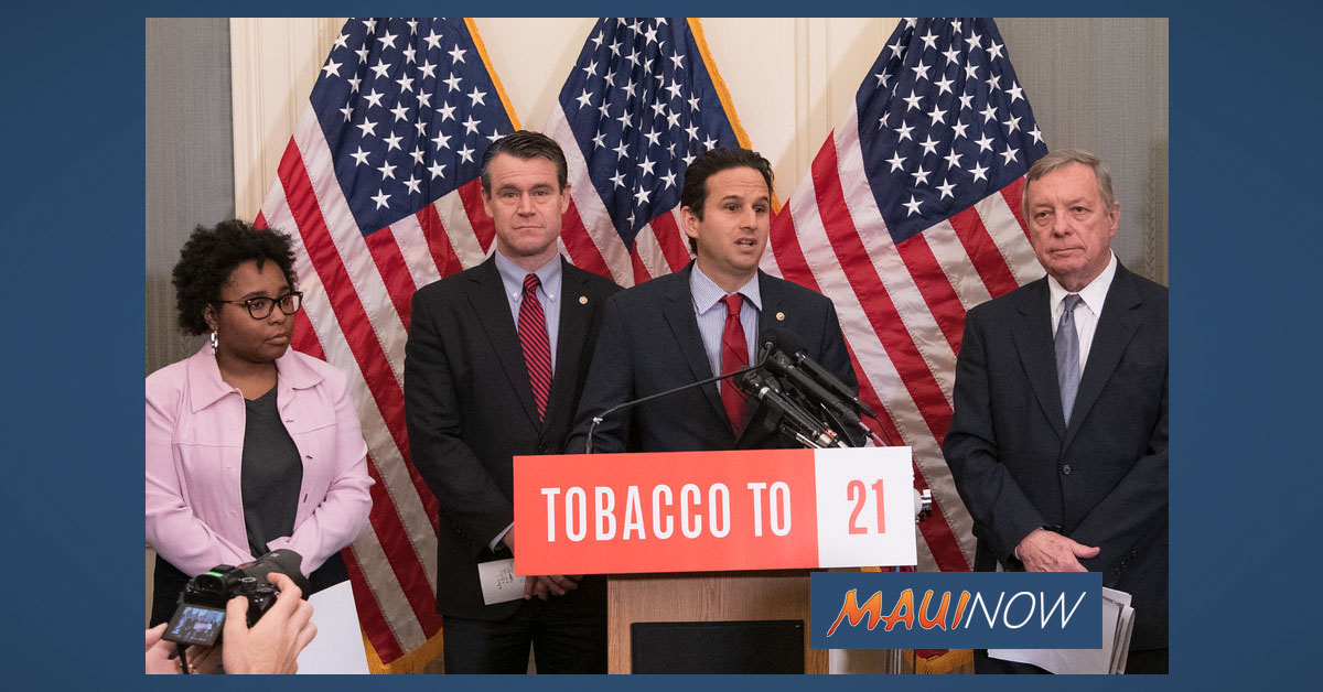 Tobacco To 21 Legislation Set To Become Law, Sent to White House