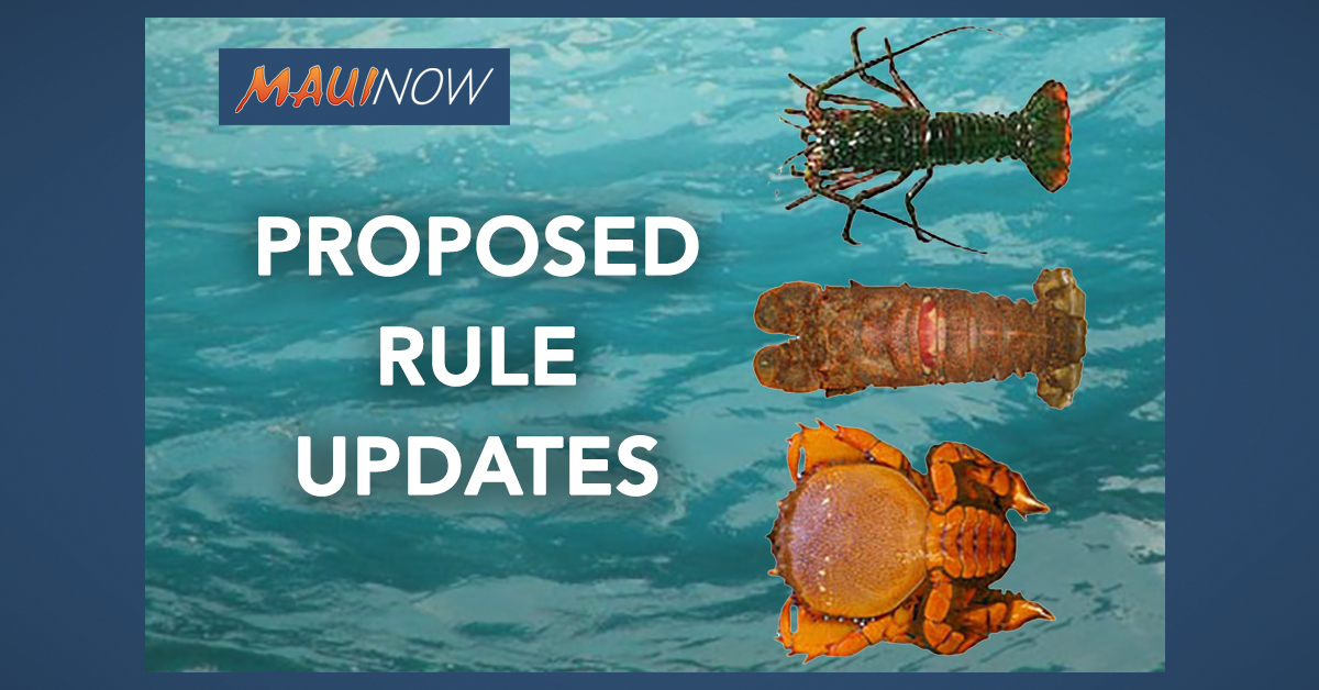 Meetings to Discuss Proposed Rule Updates for Samoan Crabs, Kona Crabs and Lobster