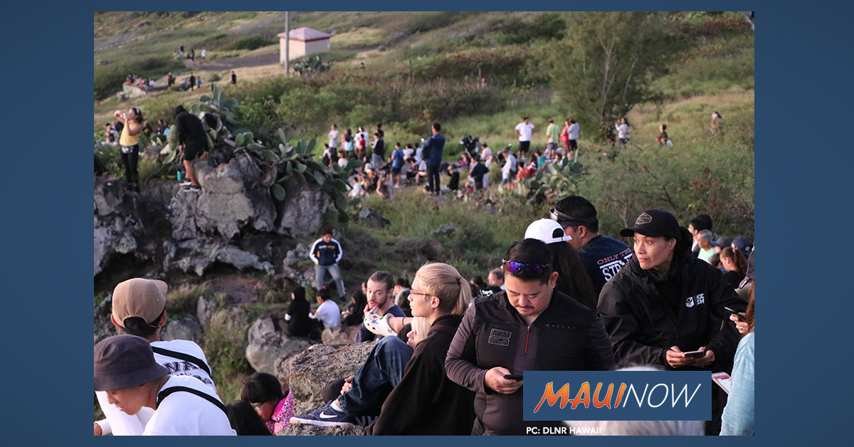Hundreds Participate in Annual First Day Hike