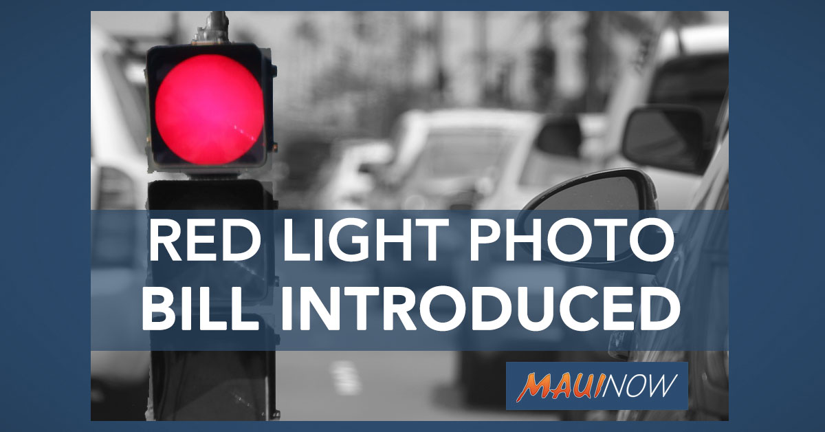 Lawmakers Consider Red Light Photo Enforcement Pilot Program
