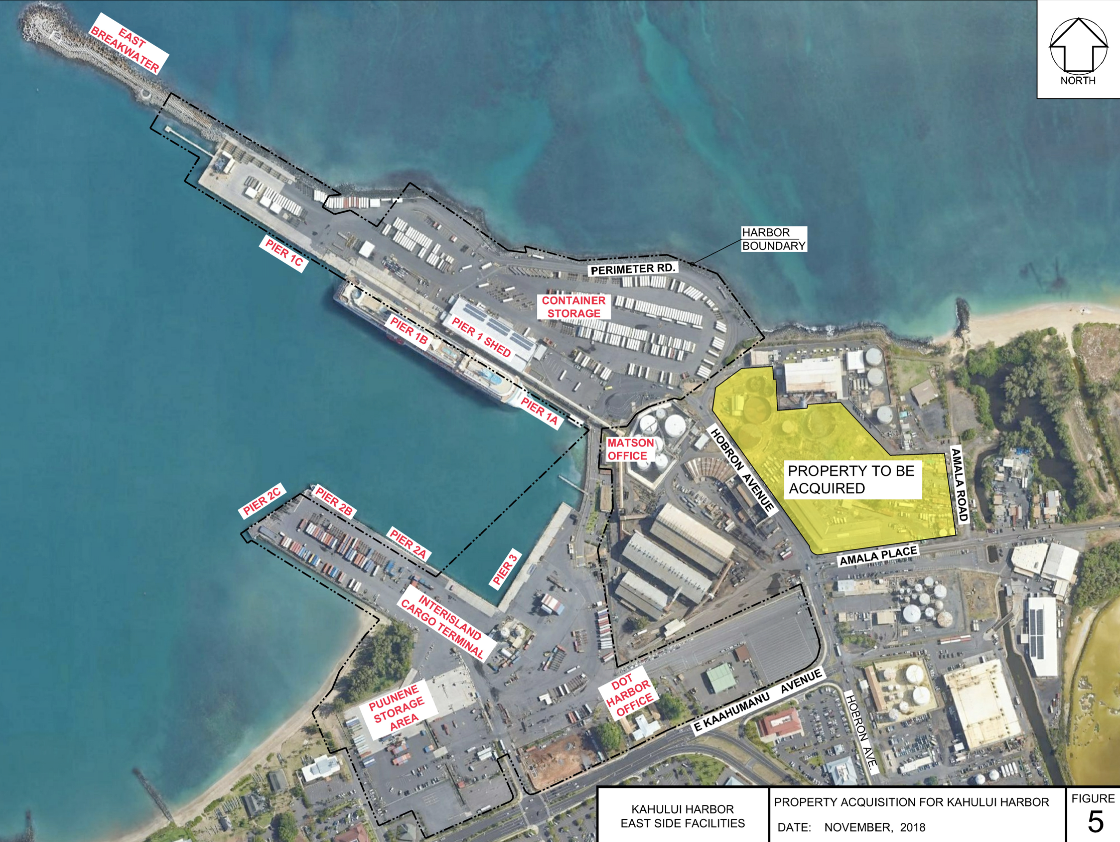 State Harbors Division Seeks Expansion of Cargo Storage in Kahului